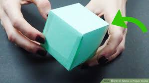 3 ways to make a paper cube wikihow