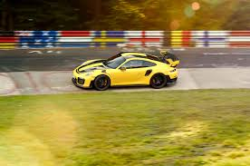 the porsche 911 gt2 rs is the quickest production car on the