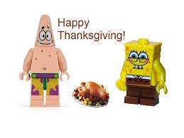 lego spongebob and s thanksgiving
