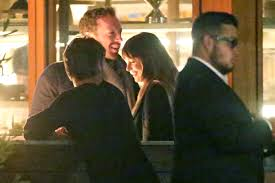 dakota johnson and chris martin go on dinner date people com