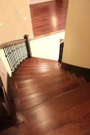 hardwood stairs installation with 3 years warranty