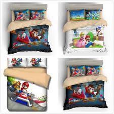 Mario Bedding Set Mario Bed Set Ebay