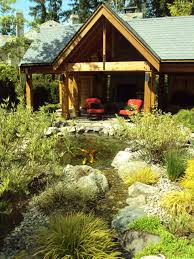 Pond Landscaping Ideas Dining Room Beautiful Pond Landscaping Ideas With Aquatic Garden