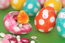 paper easter eggs not martha to make papier mache easter eggs