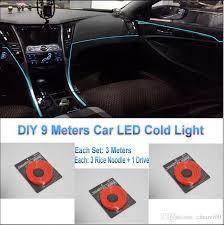 Car Led Interior Lights For Audi Diy 9 Meters 12v Car El Cold Light Led Interior Lights
