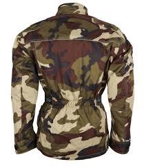 Esszimmerst Le Cord Motorradjacke Motorrad Jacke Textil Cordura Camouflage