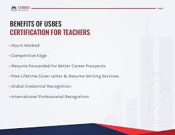 Competitive Edge Resume Service Usbes Certification For Professional Development