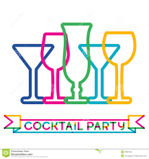 abstract colorful cocktail glass background concept for bar men