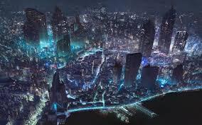 Cool World Maps by Artstation Cyberpunk City World Map Klaus Pillon