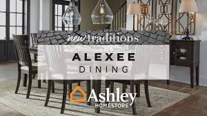 ashley homestore alexee dining youtube