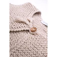 granny u0027s knitwear sand baby sleevless cardigan handknitted in