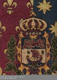 Tapestry Upholstery Fabric Discount French Tapestry With Crest Medallions 1057 14 95 Bargain
