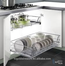 wire drawers for kitchen cabinets kitchen cabinet sliding wire baskets kitchen cabinet design