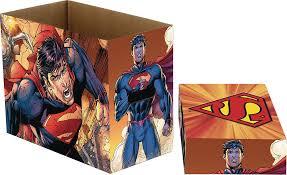 dc comics short comic book storage superman flying 5