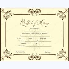 blank marriage certificate template for microsoft word