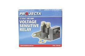projecta voltage sensitive relay battery isolator 12 volt direct