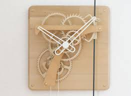 septimus wooden clock kit