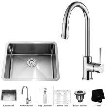 Kitchen Sink And Faucet Combos At Faucetcom - Kitchen sink and faucet sets