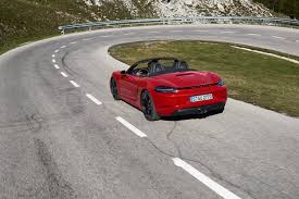 porsche boxster 2 7 0 60 2018 porsche 718 cayman and boxster gts arrive with more power