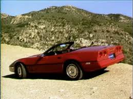 1986 corvette review motorweek retro review 86 chevrolet corvette convertible