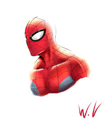 spiderman head veturvoid deviantart