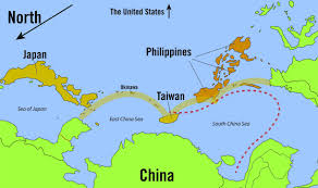 East China Sea Map The Philippines Are Finding Themselves Between A Chinese Rock And