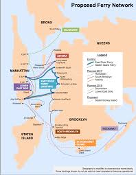 San Francisco Ferry Map by Ferry Fares The Other Challenge For Ny Citywide Ferry Workboat