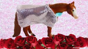 breyer horses show horse blanket diy craft mini whinnies