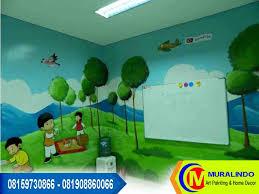 wallpaper dinding murah cikarang lukis dinding tk bekasi jasa mural lukis dinding tembok