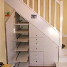 Placard Sous Escalier Avec Tablettes Elegance Rangement Placard Sous Escalier