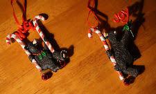 Black Bear Christmas Tree Ornaments by Kurt Adler Black Bear Christmas Ornament Ebay