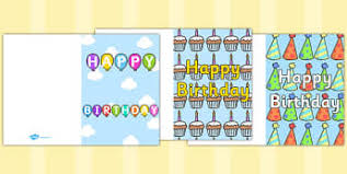 birthdays writing frames and worksheets primary page 1