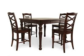 ashley dining room chairs ashley porter five piece pub set mathis brothers furniture