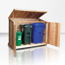 trash bin shed images about garbage shed on pinterest can