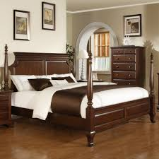 bedroom great ideas for bedroom decoration with walnut wood high