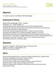 Medical Billing Job Description For Resume by Medical Billing Resume Sample Job Resume Layout Free Sample