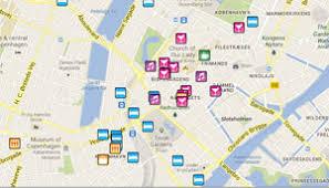 map of copenhagen copenhagen map 2018 bars clubs saunas hotels more