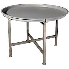 removable tray top table metal coffee table w removable tray top 26 x18 amazon co uk