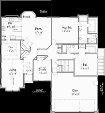 ranch floor plans with 3 car garage best ranch house plans with basement 3 car garage r52 in stunning