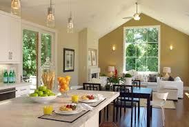 Living Room Ideas With Dining Table Kitchen Dining Room And Living Room Combined Baytownkitchen
