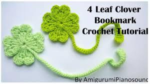 amigurumi leaf pattern shamrock four leaf clover crochet tutorial with narration youtube