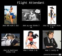 What I Really Do Meme - flight attendant what people think i do what