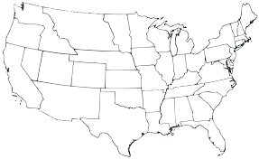 Blank Map Of Us United States Of America World Map Map Of United States The