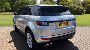 silver range rover evoque used land rover range rover evoque 2 0 td4 hse dynamic 5dr auto