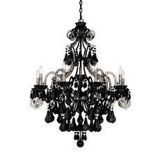 Chandelier Lamp Shades With Crystals Wonderful Black Chandelier Lamp Black Chandelier Lamp Shade Home