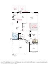 Floorplan Com by Cbh Homes Westover 1845 Floor Plan