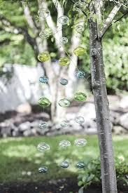 modern murano hanging mobile 48 aqua blue green glass