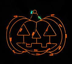 lighted pumpkins for halloween 12