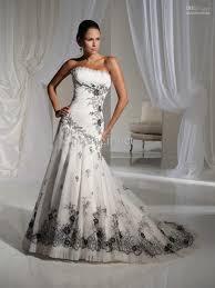 white and grey wedding dress black wedding dresses lace s style