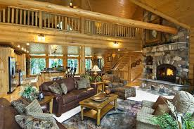 Log Home Interior Design Log Home Interior Gallery Hochstetler Milling Interior